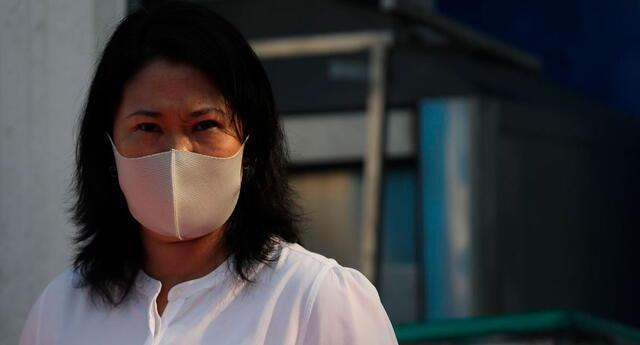 Keiko Fujimori tiene el 55% de antivotos
