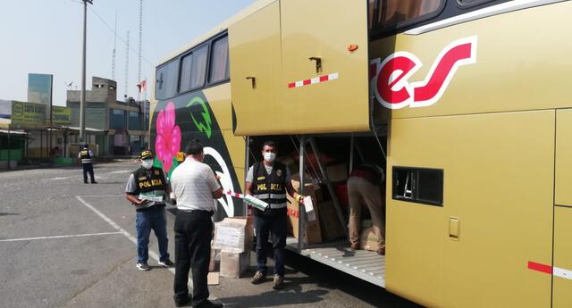 Mercadería fue incautada por la Policía