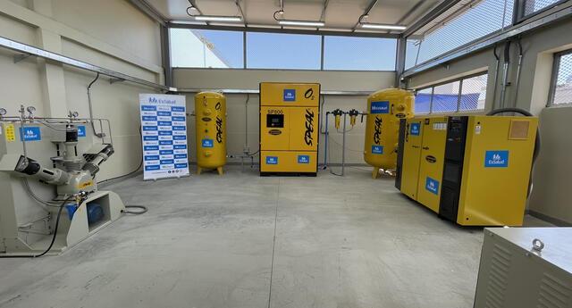 Planta de oxígeno medicinal fue inaugurada por EsSalud para beneficio del norte chico.