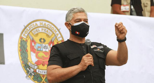 José Elice señaló que antes de realizar el desalojo en Lomo de Corvina se promoverá el diálogo entre las autoridades.