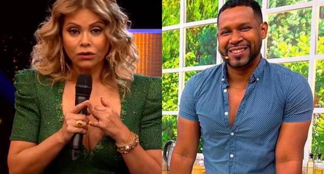 Gisela Valcárcel ya había confirmado que Giselo no estaría en El Artista del Año, pero lo volvió a decir.