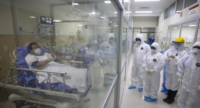 La región Piura reportó la ausencia de camas UCI y carencia de oxígeno medicinal.