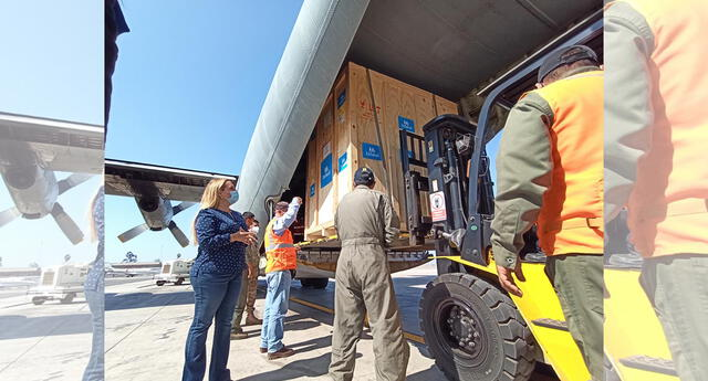 Llevan plantas de oxígeno al interior del país para mejorar situación COVID-19.