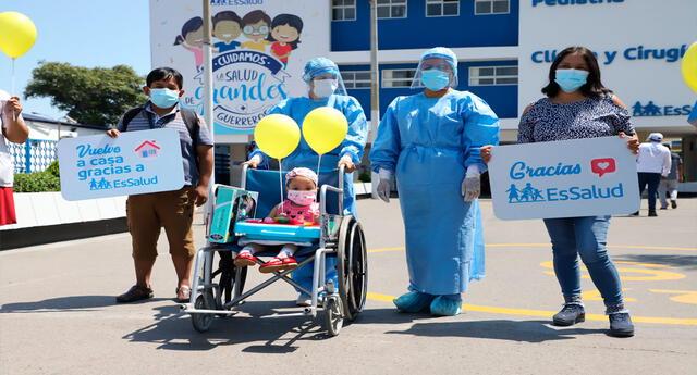 Proeza médica se realizó en el Hospital Rebagliati, en medio de la segunda ola de la pandemia por la COVID-19