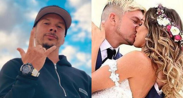 A pesar de la distancia, Mario Hart no dejó de dedicarle románticas palabras a Korina Rivadeneira.