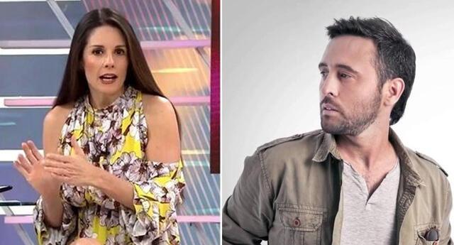 Rebeca Escribens desea que Diego Dibós se recupere pronto.