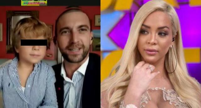 Antonio Pavón y el pequeño Antoñito se comunicaron con América Hoy para dar detalles de vida en España, y hablaron de Sheyla Rojas.