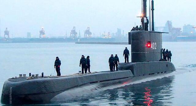 Indonesia: autoridades buscan a submarino desaparecido con 53 tripulantes a bordo al norte de Bali.