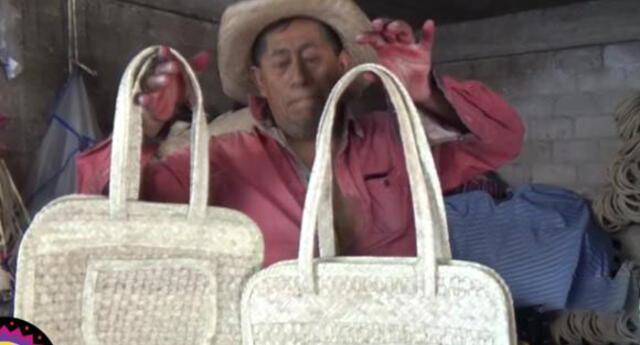 El emotivo hecho protagonizado por el artesano fue grabado en México.