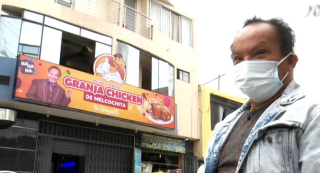 Melcochita se reinventa e inaugura su pollería en Los Olivos:
