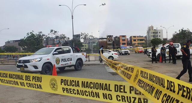 Hombre muere durante persecución policial por calles de El Agustino.