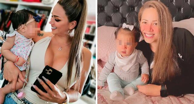 Melissa Klug comparte conmovedor momento con su nieta.