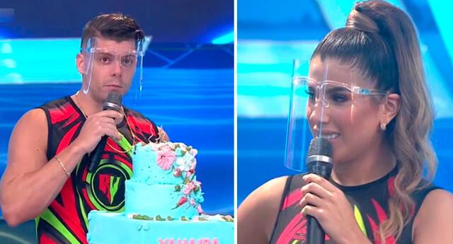 Yahaira Plasencia fue sorprendida por su cumpleaños.