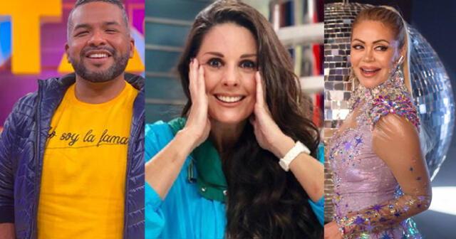 Choca Mandros adelantó que Rebeca Escribens estaría esta noche en 'El Artista del Año'