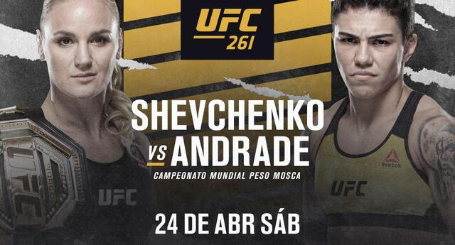 Conoce aquí cómo y en dónde ver la pelea entre Valentina Shevchenko vs. Jéssica Andrade EN VIVO.