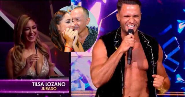 Tilsa Lozano ordena a Jackson Mora apagar su TV tras ver a Fabio Agostini.