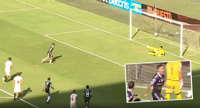 Sporting Cristal puso el primero del partido ante Universitario por la Liga 1.