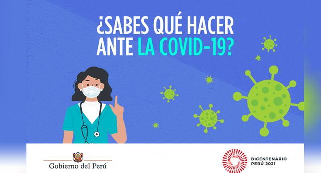Campaña busca reforzar los cuidados en casa. Foto: difusión