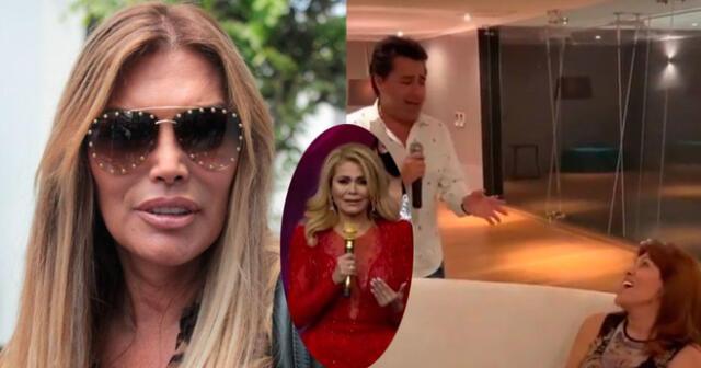 Jessica Newton niega que video de Magaly Medina fuera para arruinar regreso de Gisela Valcárcel