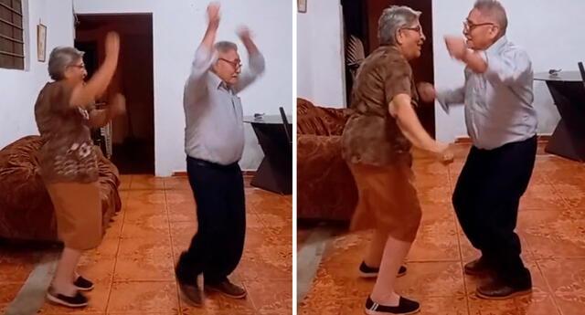 """""""Nos divertimos mucho haciendo este baile, espero que les guste"""", escribió la pareja desde la cuenta @victor_rita11 de TikTok."""