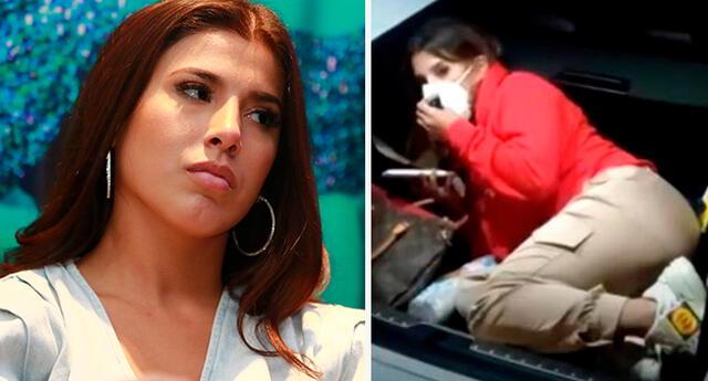 Yahaira Plasencia habría recibido ayuda para escapar de intervención.