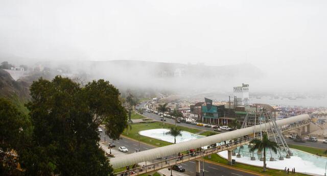 El Senamhi registró la temperatura más baja en lo que va del año este 27 de abril en Lima.