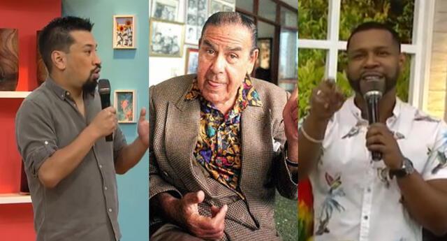 Aldo Miyashiro llegó como invitado de América Hoy, y aseguró que Edson Dávila tiene talento, para luego ponerlo al mismo nivel de Augusto Ferrando.