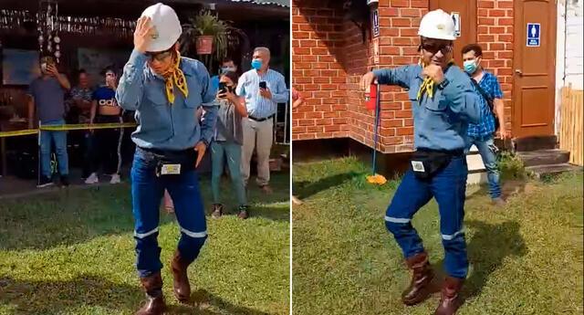 El ingeniero bailarín se ha convertido en todo un personajes de las redes sociales.