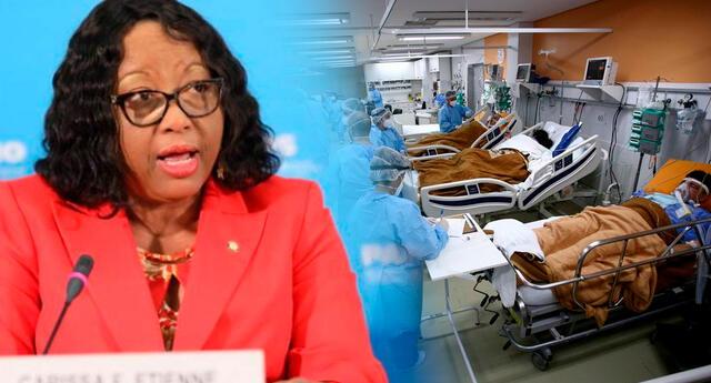 """""""Nuestra región todavía está bajo las garras de esta pandemia"""", indicó la directora de la OPS, Carissa Etienne."""