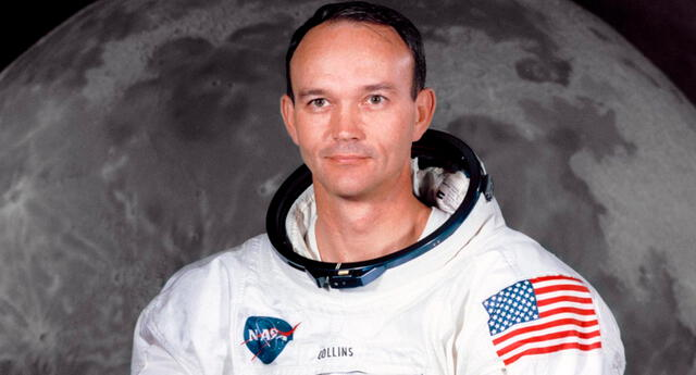 """""""Estoy seguro de que, si todo el mundo pudiera ver por su ventana la Tierra flotando, todos los días serían el Día de la Tierra"""", indicó Michael Collins en un tuit."""