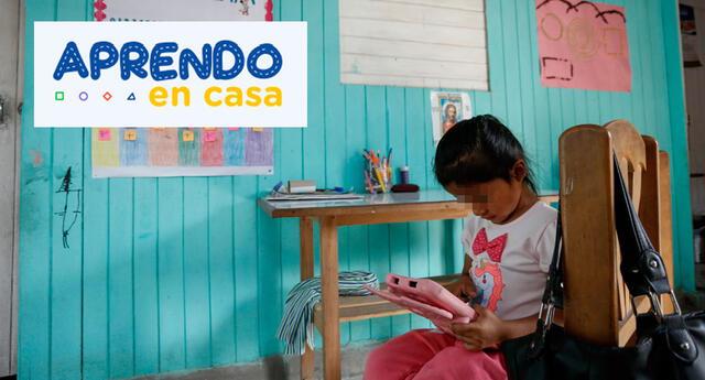 Aprendo en Casa horario TV Perú y Radio Nacional clases 29 de abril.