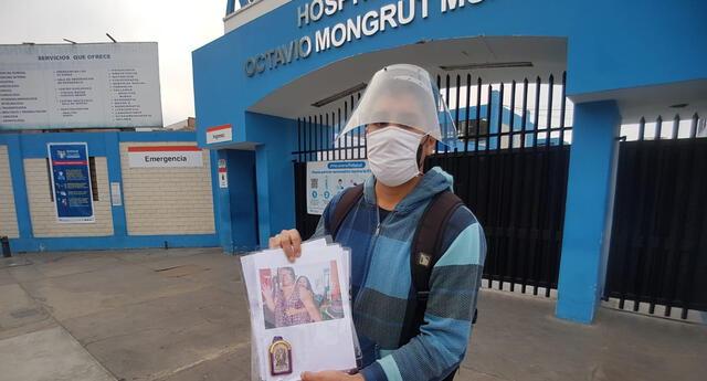 Joven busca con urgencia cama UCI para su madre, quien dio positivo al coronavirus. La mujer actualmente está internada y su pronóstico es reservado.