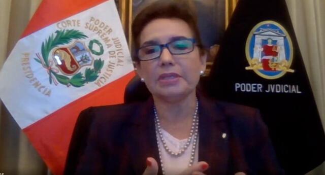 Presidenta del Poder Judicial dijo que se requiere institucionalizar presencia paritaria de las mujeres en la administración de justicia
