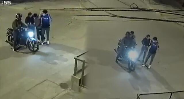 Delincuentes toman calles de Los Olivos para cometer actos delictivos.