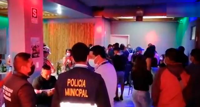 El operativo se realizó en conjunto de la Policía Nacional y Serenazgo del distrito.