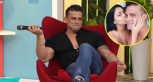 Christian Domínguez afirma que Pamela Franco no lo manda a dormir al sofá por hablar de sus ex