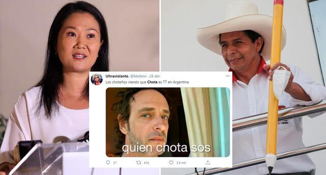 Chota se hizo tendencia en Twitter, Facebook y otras redes sociales.