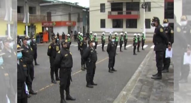 PNP restringirá el ingreso a la plaza de armas de Chota ante el debate.