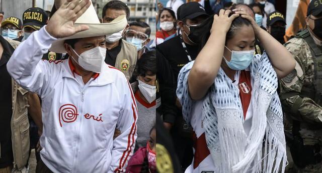 Pedro Castillo saludó a todos los peruanos por el Día del Trabajo, pero arremetió contra Keiko Fujimori diciendo que no sabe dónde trabaja.