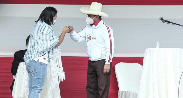 Pedro Castillo y Keiko Fujimori se miden este sábado en debate presidencial desde Chota, Cajamarca.