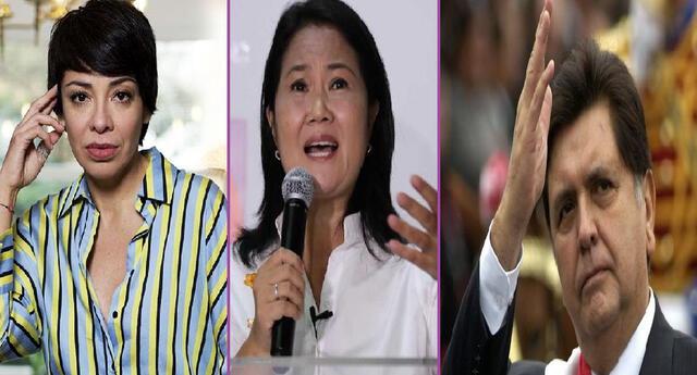 La actriz Tatiana Astengo hizo hilarante comentario sobre Keiko Fujimori tras el debate presidencia ante Pedro Castillo.l