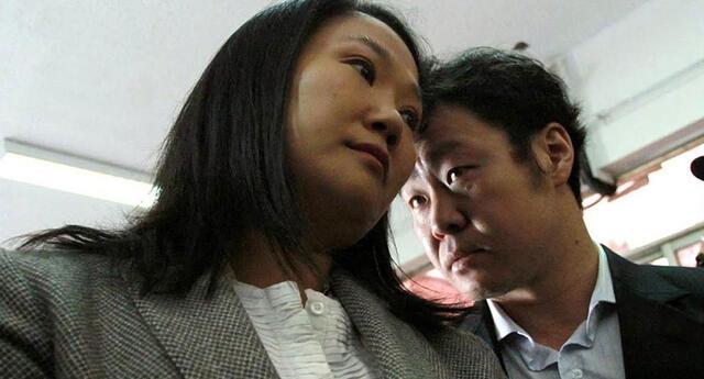 Keiko y Kenji Fujimori más unido que nunca ante esta segunda vuelta presidencial.