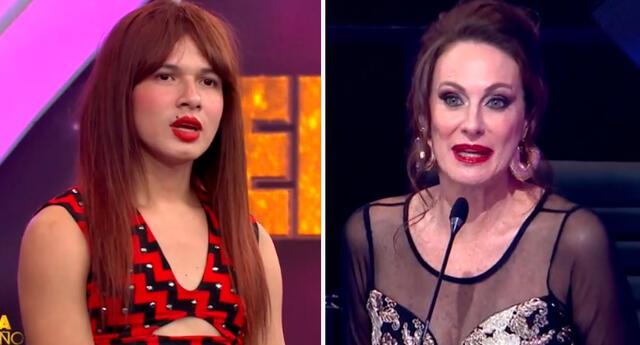 Denisse Dibós se mostró disgustada con presentación de La Uchulú.