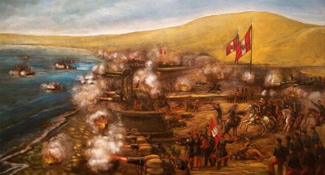 El Combate del Callao, también llamado Combate del 2 de mayo, ocurrió en el año de 1866.