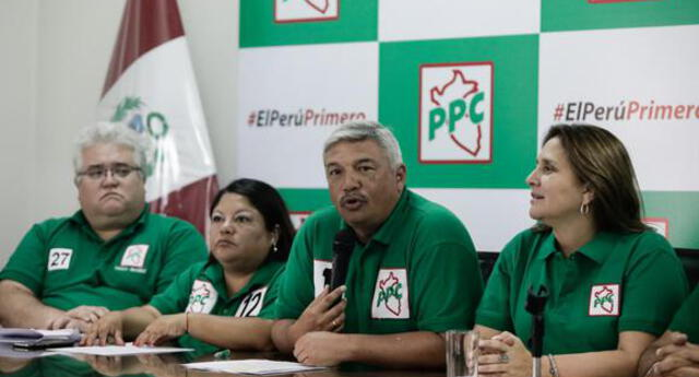 "PPC anuncia su respaldo de forma ""excepcional"" a Keiko Fujimori"