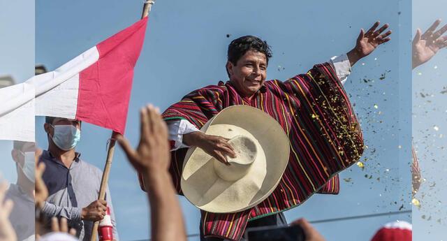 Pedro Castillo obtiene el 43%