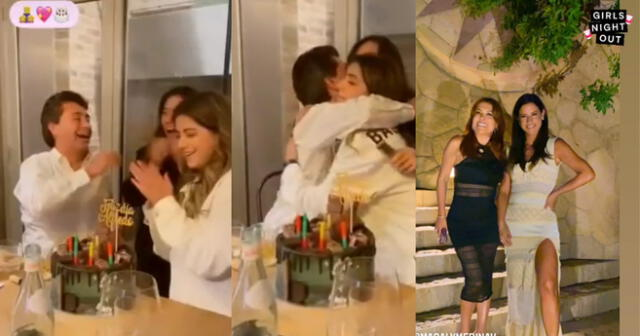 Alfredo Zambrano celebra su cumpleaños sin Magaly Medina, mientras ella disfruta de Máncora