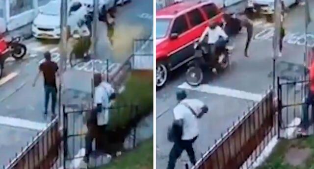 El hombre logró que los ladrones fueras atrapados