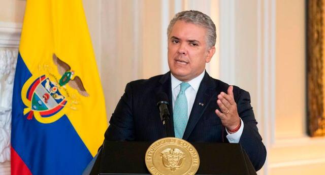 Presidente de Colombia: Iván Duque