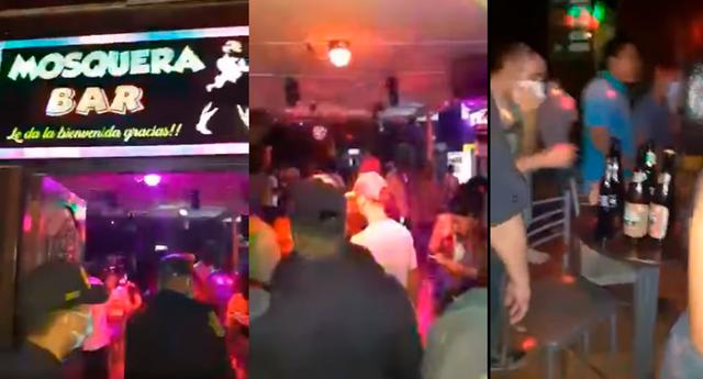 Agentes de la Policía Nacional y fiscalizadores de Pucallpa intervinieron un bar con más de 100 personas